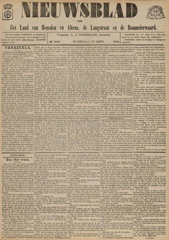Nieuwsblad het land van Heusden en Altena de Langstraat en de Bommelerwaard 1902-09-17