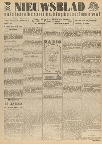 Nieuwsblad het land van Heusden en Altena de Langstraat en de Bommelerwaard 1929-01-30