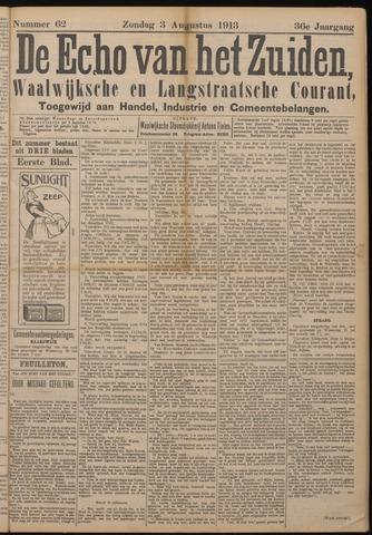 Echo van het Zuiden 1913-08-03