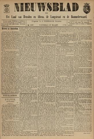 Nieuwsblad het land van Heusden en Altena de Langstraat en de Bommelerwaard 1895-03-27