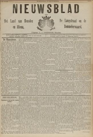 Nieuwsblad het land van Heusden en Altena de Langstraat en de Bommelerwaard 1891-09-23