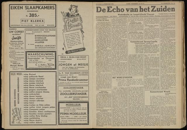 Echo van het Zuiden 1948-02-24