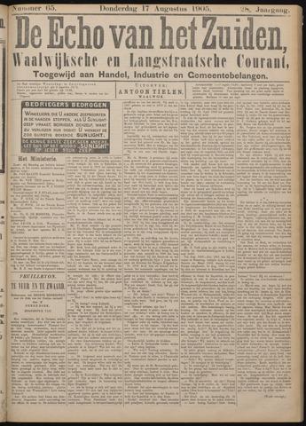 Echo van het Zuiden 1905-08-17