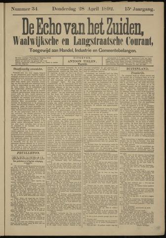 Echo van het Zuiden 1892-04-28
