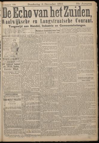 Echo van het Zuiden 1912-12-05