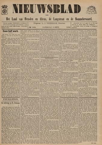 Nieuwsblad het land van Heusden en Altena de Langstraat en de Bommelerwaard 1899-09-02