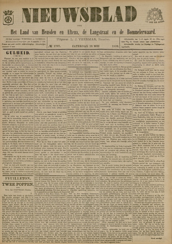 Nieuwsblad het land van Heusden en Altena de Langstraat en de Bommelerwaard 1899-05-13