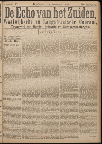 Echo van het Zuiden 1907-02-28