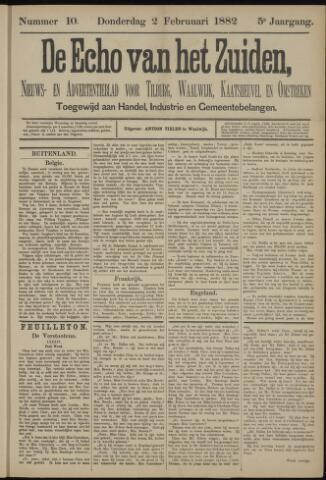 Echo van het Zuiden 1882-02-02