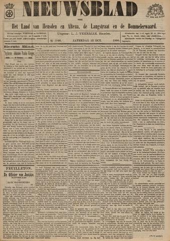 Nieuwsblad het land van Heusden en Altena de Langstraat en de Bommelerwaard 1900-10-13