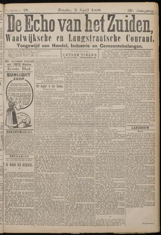 Echo van het Zuiden 1908-04-05