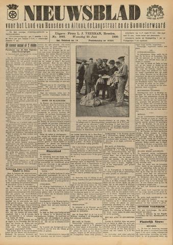 Nieuwsblad het land van Heusden en Altena de Langstraat en de Bommelerwaard 1930-06-25