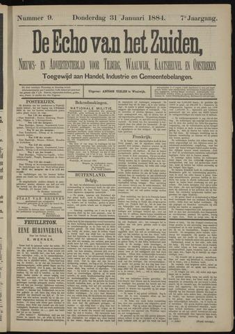 Echo van het Zuiden 1884-01-31