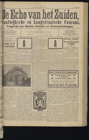 Echo van het Zuiden 1931-02-07