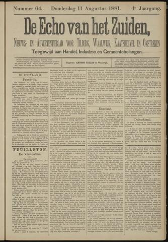 Echo van het Zuiden 1881-08-11