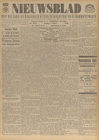 Nieuwsblad het land van Heusden en Altena de Langstraat en de Bommelerwaard 1924-03-07