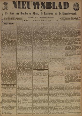 Nieuwsblad het land van Heusden en Altena de Langstraat en de Bommelerwaard 1894-01-24