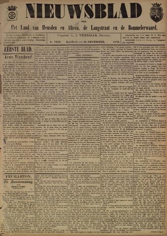 Nieuwsblad het land van Heusden en Altena de Langstraat en de Bommelerwaard 1893-12-16