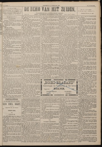 Echo van het Zuiden 1920-02-12