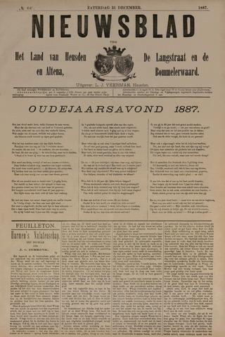 Nieuwsblad het land van Heusden en Altena de Langstraat en de Bommelerwaard 1887-12-31