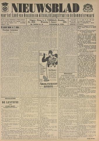 Nieuwsblad het land van Heusden en Altena de Langstraat en de Bommelerwaard 1930-01-08