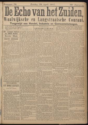 Echo van het Zuiden 1907-04-28