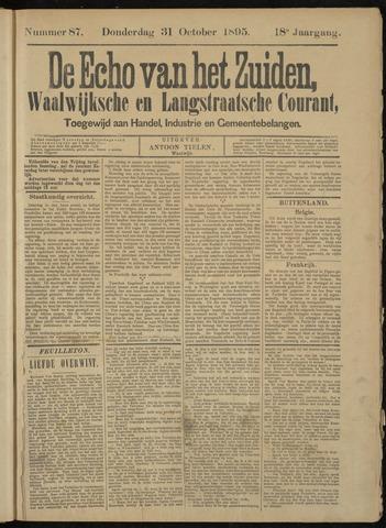Echo van het Zuiden 1895-10-31