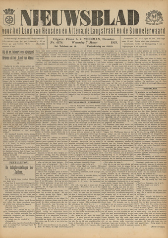 Nieuwsblad het land van Heusden en Altena de Langstraat en de Bommelerwaard 1923-03-07