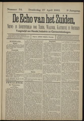 Echo van het Zuiden 1882-04-27