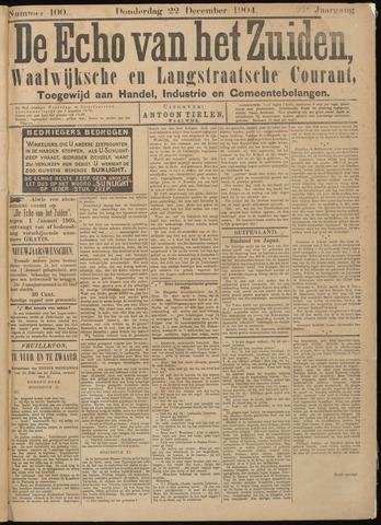 Echo van het Zuiden 1904-12-22