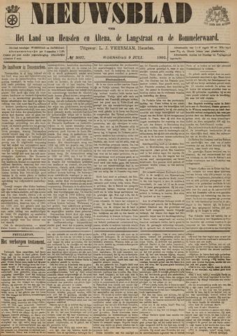 Nieuwsblad het land van Heusden en Altena de Langstraat en de Bommelerwaard 1902-07-09