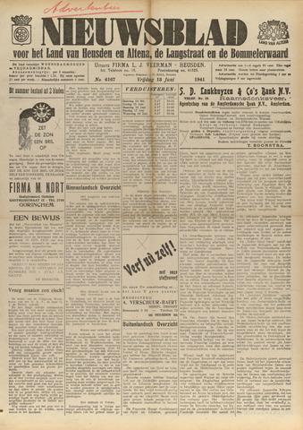 Nieuwsblad het land van Heusden en Altena de Langstraat en de Bommelerwaard 1941-06-13