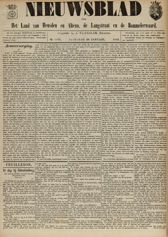 Nieuwsblad het land van Heusden en Altena de Langstraat en de Bommelerwaard 1893-01-28