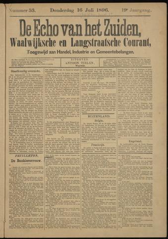 Echo van het Zuiden 1896-07-16