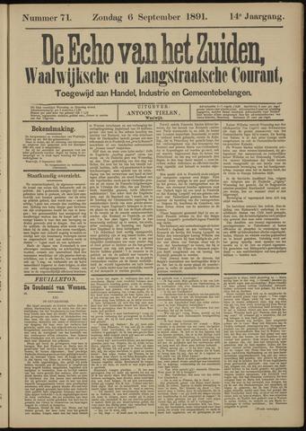 Echo van het Zuiden 1891-09-06