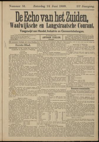 Echo van het Zuiden 1899-06-24