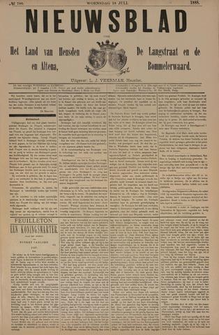 Nieuwsblad het land van Heusden en Altena de Langstraat en de Bommelerwaard 1888-07-18
