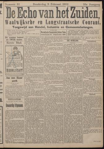 Echo van het Zuiden 1912-02-08