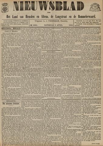 Nieuwsblad het land van Heusden en Altena de Langstraat en de Bommelerwaard 1902-04-05