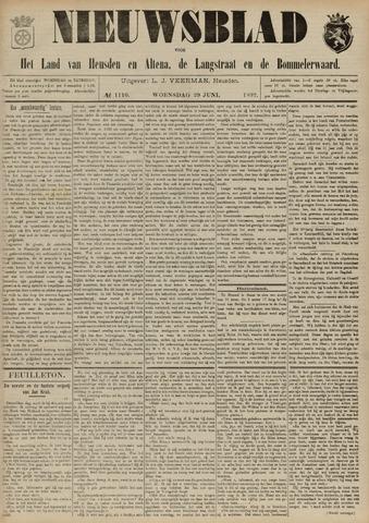 Nieuwsblad het land van Heusden en Altena de Langstraat en de Bommelerwaard 1892-06-29