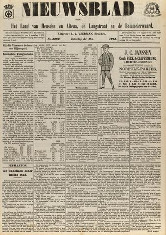 Nieuwsblad het land van Heusden en Altena de Langstraat en de Bommelerwaard 1913-05-31