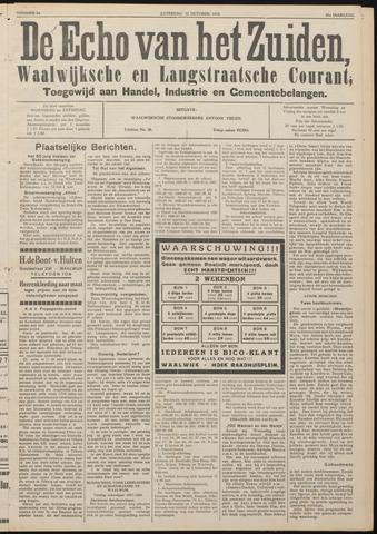 Echo van het Zuiden 1938-10-22