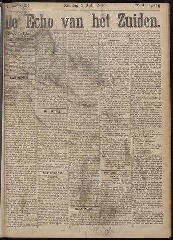 Echo van het Zuiden 1905-07-02