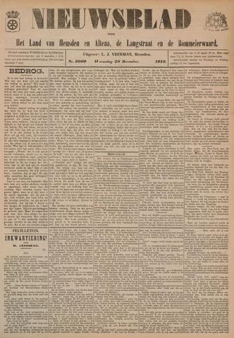 Nieuwsblad het land van Heusden en Altena de Langstraat en de Bommelerwaard 1910-12-28