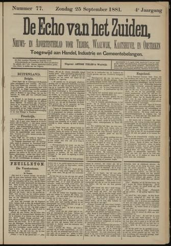 Echo van het Zuiden 1881-09-25