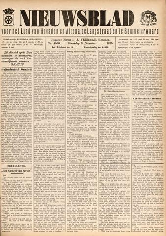 Nieuwsblad het land van Heusden en Altena de Langstraat en de Bommelerwaard 1925-12-09
