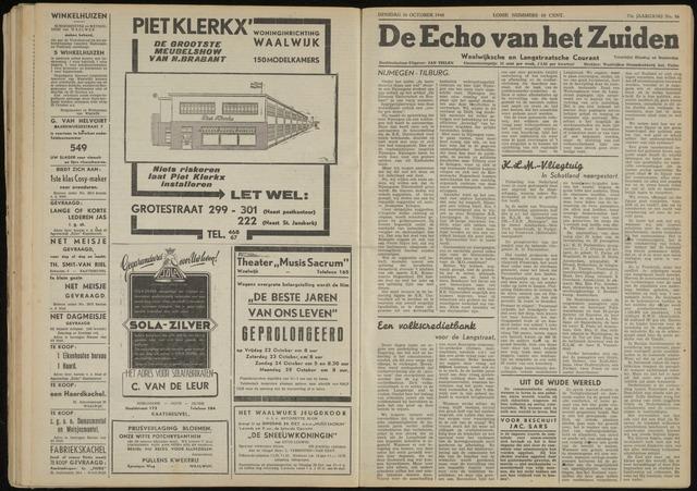 Echo van het Zuiden 1948-10-26