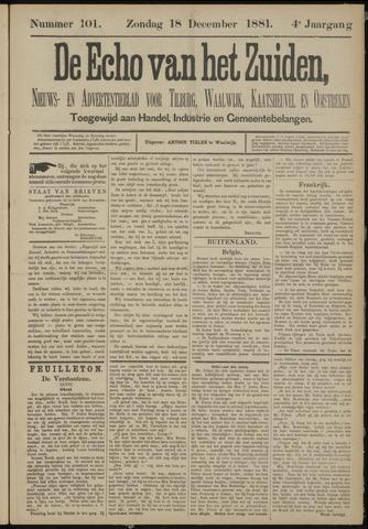 Echo van het Zuiden 1881-12-18