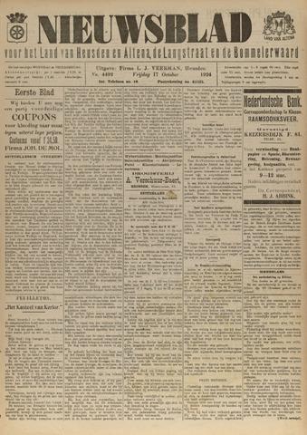 Nieuwsblad het land van Heusden en Altena de Langstraat en de Bommelerwaard 1924-10-17