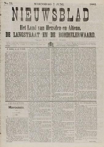 Nieuwsblad het land van Heusden en Altena de Langstraat en de Bommelerwaard 1882-06-07